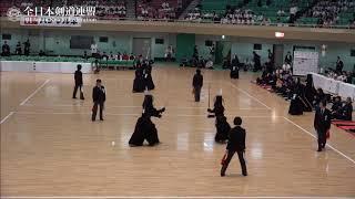 AKITA vs NAGANO 10th All Japan Interprefecture Ladies KENDO Championship 2018 1st Round