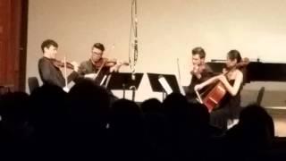 ravel in f major kolden string quartet