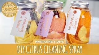 DIY Citrus Natural Cleaning Spray - HGTV Handmade