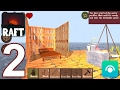Raft Survival Simulator - Gameplay Walkt