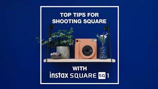 Fujifilm Instax SQ1 Fuji Instax Square SQ1 Instant Camera Polaroid GARANSI RESMI