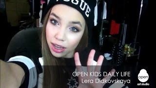 Open Kids daily life week #4 Lera Didkovskaya - Open Art Studio