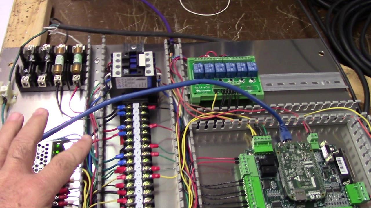 Phoenix CNC Router Upgrade: Centroid CNC Acorn DMM AC Servos  Part 4
