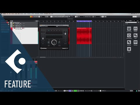 Tranceformer | Effects and Plug-ins Included in Cubase