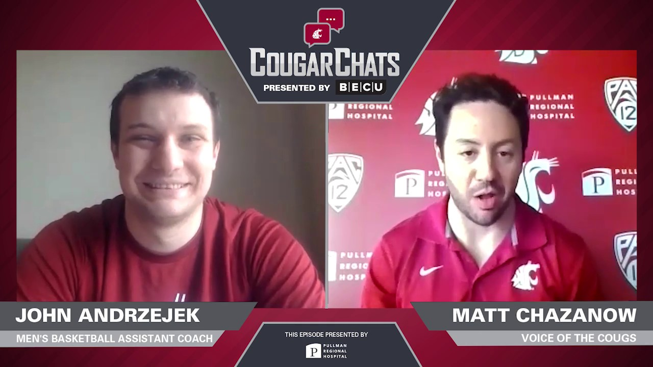 Image for WSU Athletics: Cougar Chats with Coach John Andrzejek webinar