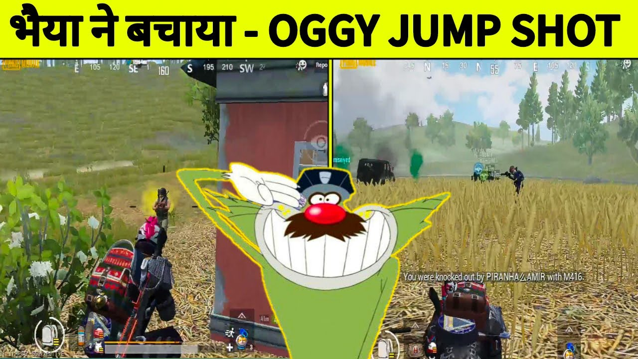 BHAIYA BACHAO !! PUBG MOBILE FUNNY GAMEPLAY WITH OGGY AND JACK !! OGGY OR PUBG