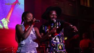 NotjustOk TV: What Happened Between Simi, Adekunle Gold & Falz At