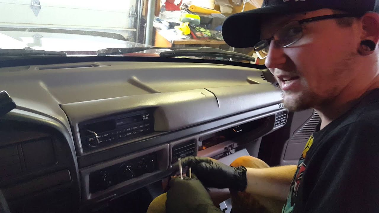 maxresdefault 92 96 f150 cracked dash removal youtube  at soozxer.org