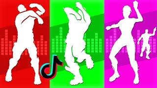 ALL *NEW* FORTNITE TIKTOK DANCES EMOTES (Tiktok Dances)