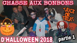 CHASSE AUX BONBONS ET DEGUSTATION HALLOWEEN 2018:LES GENS SONT DES CREVARDS?!!PARTIE 1