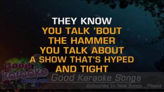 MC Hammer - Rick Ross ( Karaoke Lyrics )