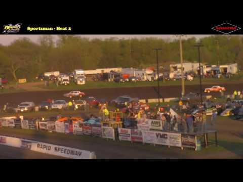 Sportsman -- 5/5/17 -- Rapid Speedway