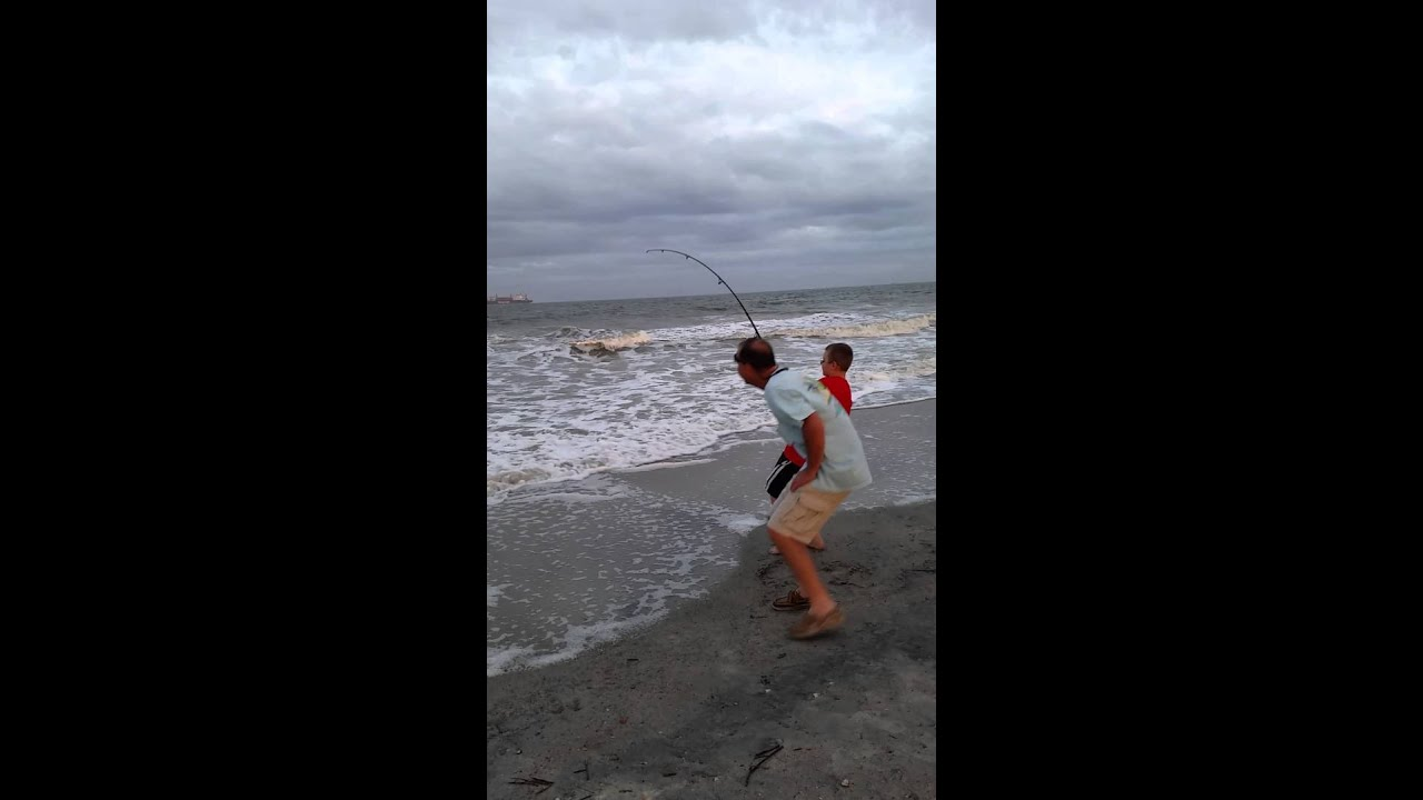 Fishing the surf youtube for Tybee island fishing report