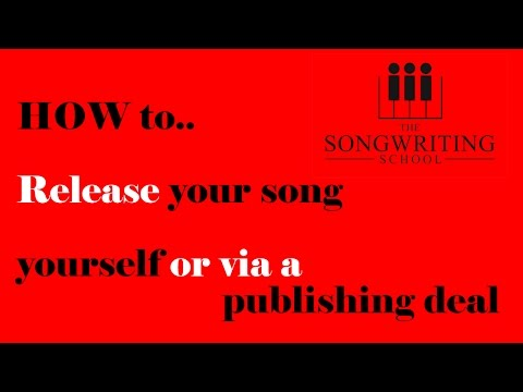 How To Release Your Song Onto iTunes Or Via A Publishing Contract