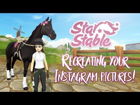Recreating YOUR Instagram Pictures! | Star Stable Updates