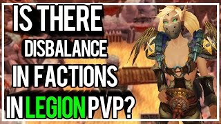 IS THERE FACTION DISBALANCE IN LEGION PVP? - Outlaw Rogue PvP WoW Legion 7.0.3