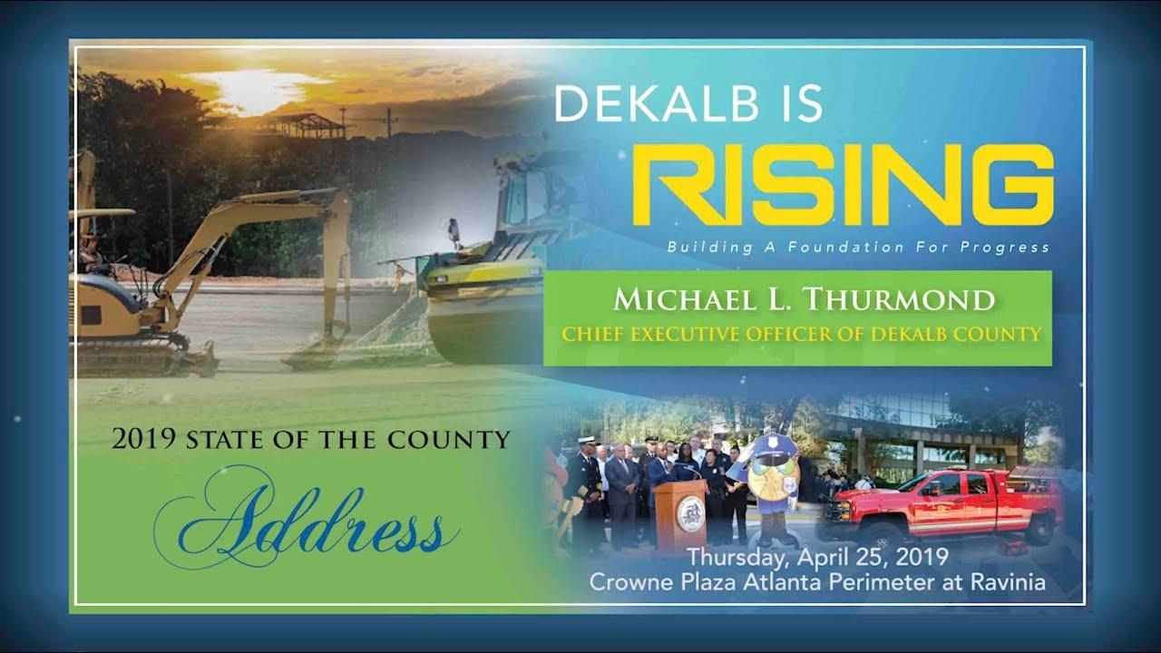 CEO Michael L  Thurmond | DeKalb County, GA