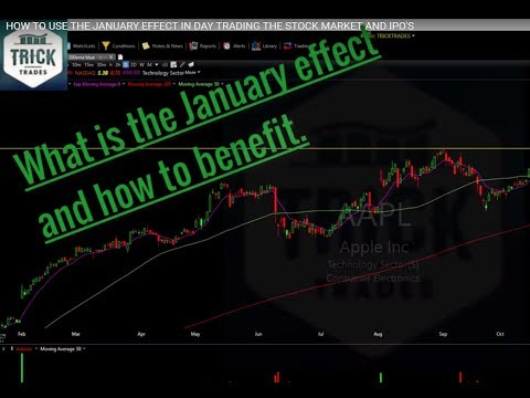 HOW TO USE THE JANUARY EFFECT IN DAY TRADING THE STOCK MARKET AND IPO'S