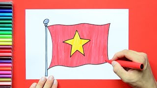 How to draw Flag of Vietnam