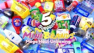 Unbox Daily: ALL NEW Zuru 5 Surprise Mini Brands HAUL PLUS Quick Craft