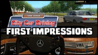 City Car Driving - Gameplay & First Impressions