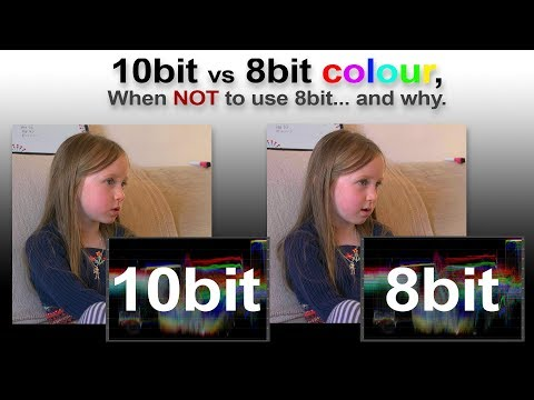 10bit Vs 8bit Colour. When NOT To Use 8bit, And Why.