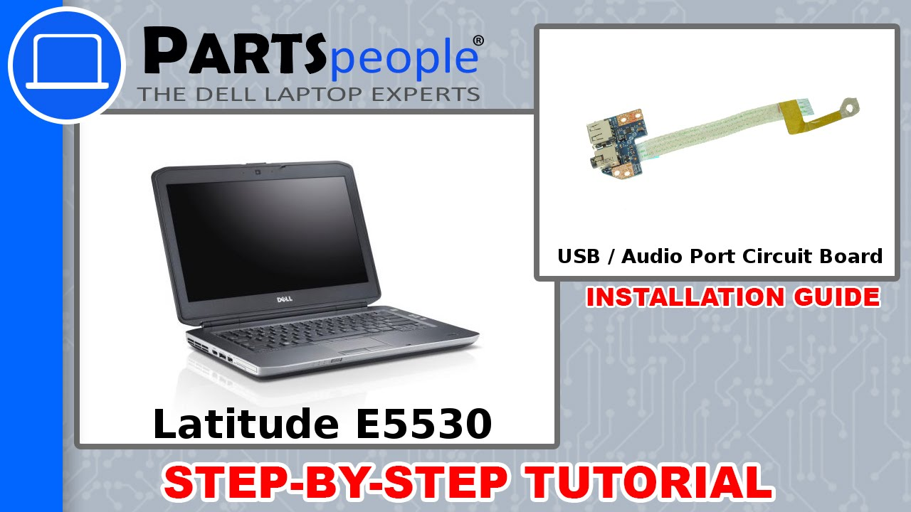 Dell Latitude E5530 P28g 001 Usb Audio Circuit Board How To Video Headphone Jack Wiring Diagram Tutorial