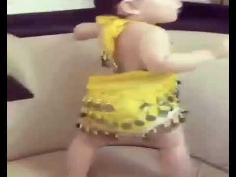 الطفله المعجزه التى رقصة على اغنية يلي بتحبي النعنع thumbnail