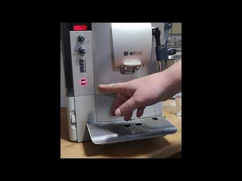 Bosch Verocafe latte  TES50354 Bézs kávéfőző calcandclean program