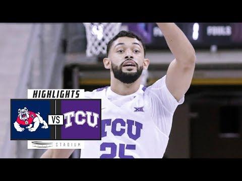 Fresno State vs. No. 21 TCU Basketball Highlights (2018-19)   Stadium