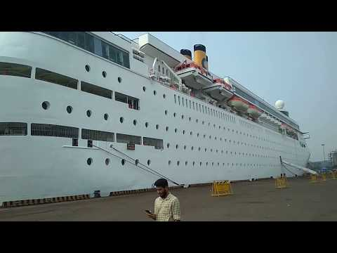 Passenger Ship Costa Classica at NMPT New Mangalore Port Trust Panambur