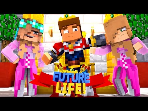 Minecraft FUTURE LIFE - ASHLEY DRESSES LIKE LITTLE KELLY & DATES LITTLE DONNY IN DISGUISE !!