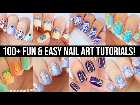 new nail art 2020 fun  easy nail art compilation  youtube