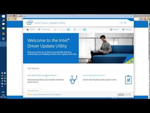 Как обновить драйверы для оборудования Intel на компьютере