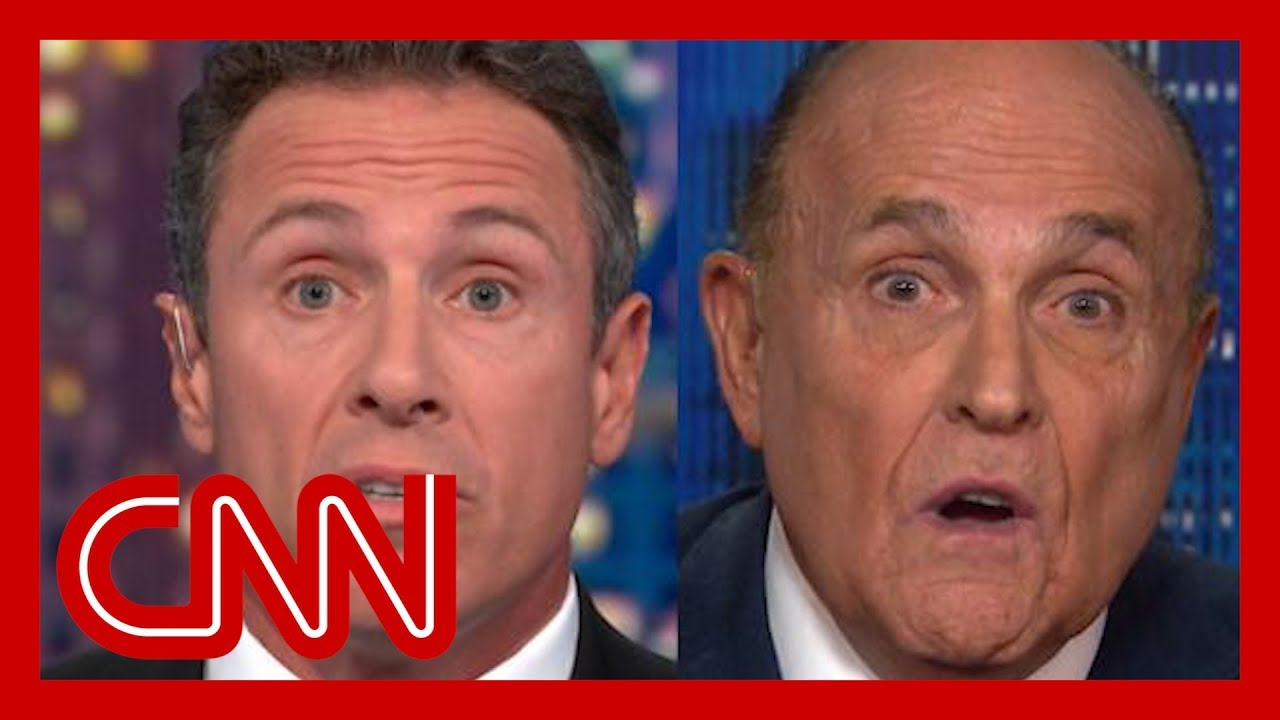 Rudy Giuliani says he didn't ask Ukraine to investigate Biden  and then says he did
