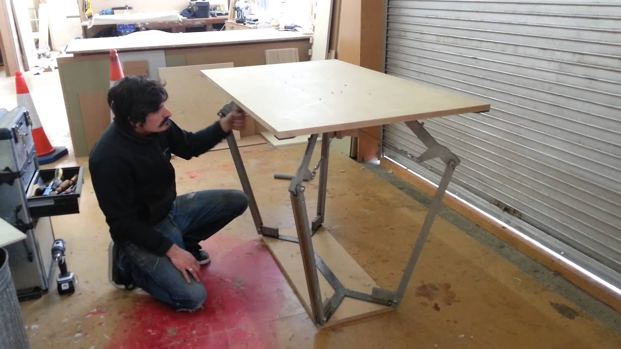 Height Adjustable Table Prototype Doovi