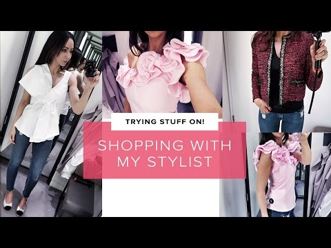 SEEING MY PERSONAL STYLIST 😃 -  Come Shopping! Luxury VLOG | Sophie Shohet