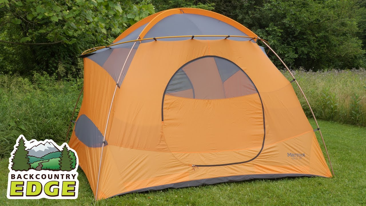 Marmot Halo 6P C&ing Tent & Marmot Halo 6P Camping Tent - YouTube