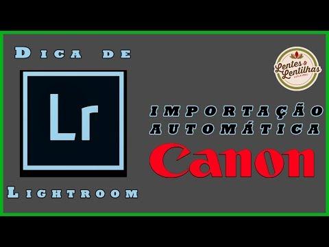 Dicas de Lightroom - Importação Automática de Imagens usando o Canon EOS Utility + 70D