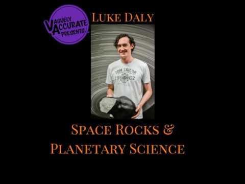 ECR #024: Luke Daly - Space Rocks & Planetary Science