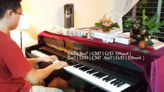 """[Piano cover + Hòa âm] Tôi là ai trong em (Đồi thông) - Erik (St.319) - """"Taxi em tên gì"""" OST"""