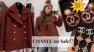 CHANEL JANUARY SALE | Weekend Vlog: Shopping, Harrods & Winter Wonderland