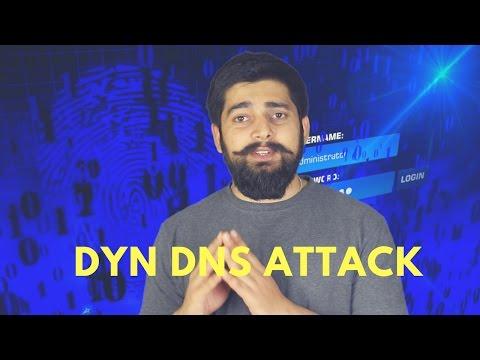 Dyn DNS DDOS Attack explained