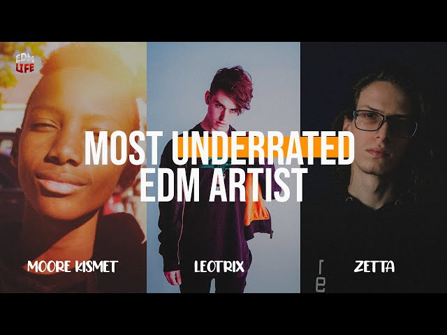 MOST UNDERRATED EDM ARTIST