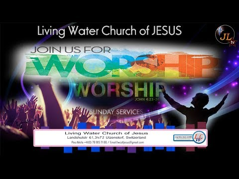 JL tv Worship Bro  Deluxshan Living Water Church of JESUS 02 12 2018 thumbnail