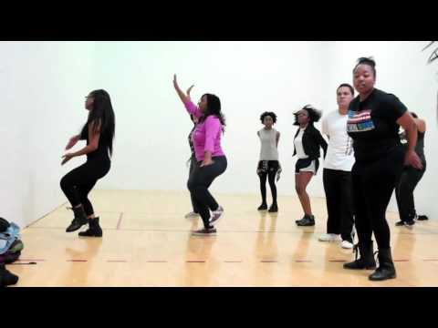 Step and Dance Team at Valencia College