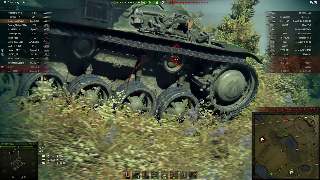 reputable site ba75d 4f138 Snipe with Rhm Borsing Waffentrager on Malinovka