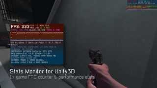 stats monitor for unity ingame fps counter performance graph
