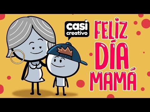 Feliz Día De Las Madres A La Mamá Más Cool   Casi Creativo