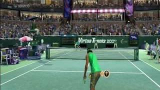 Virtua Tennis 2009 analisis review